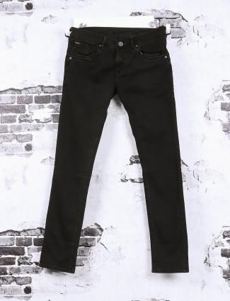 Gesture brown plain jeans