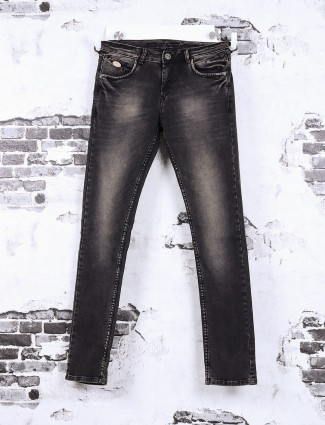 Gesture brown washed jeans