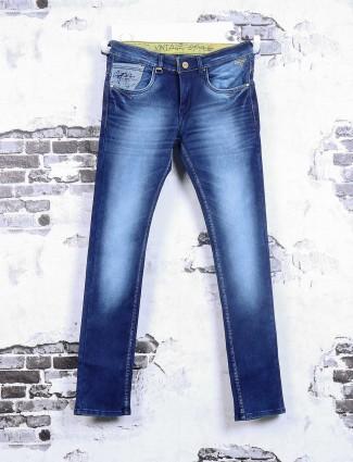 Gesture royal blue jeans