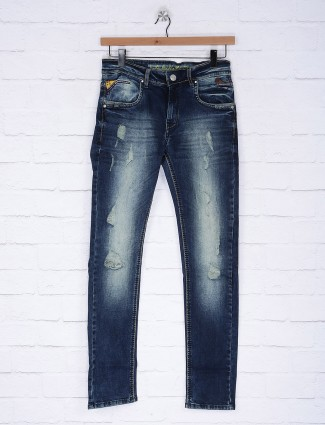 Gesture simple blue slim fit jeans
