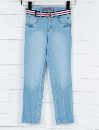 Gini and Jony casual wear sky blue jeans