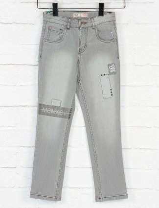 Gini and Jony grey washed casual jeans