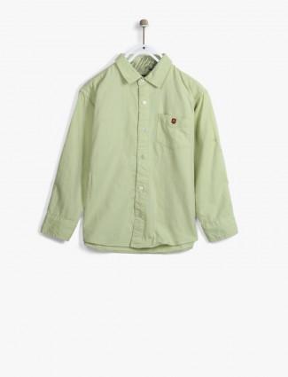Gini and Jony olive shirt