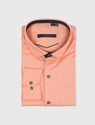I Party plain orange shirt
