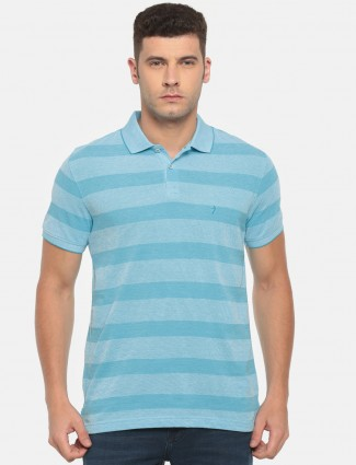 Indian Terrain aqua t-shirt