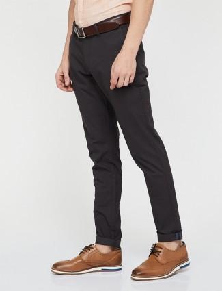 Indian Terrain black color cotton trouser
