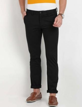 Indian Terrain black cotton trouser