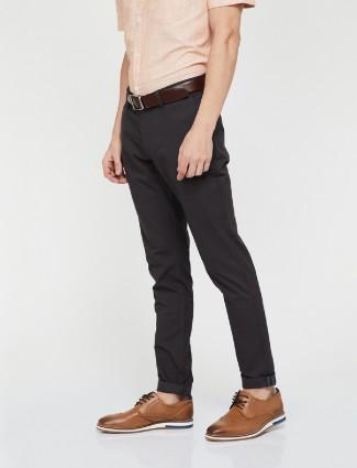 Indian Terrain cotton black trouser