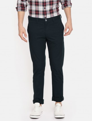 Indian Terrain cotton green trouser
