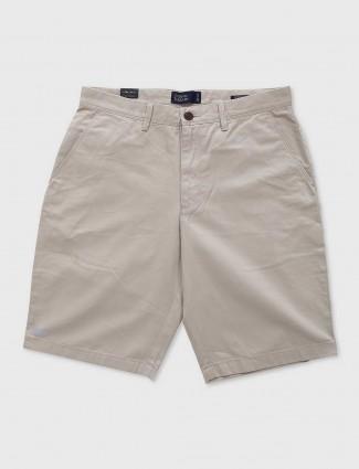 Indian Terrain cream shorts