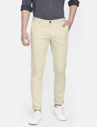 Indian Terrain cream trouser