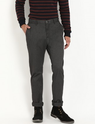 Indian Terrain grey men trouser