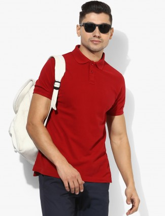 Indian Terrain red t-shirt