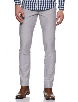 Indian Terrain simple grey colored trouser