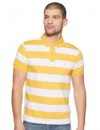 Indian Terrain yellow hue stripe t-shirt