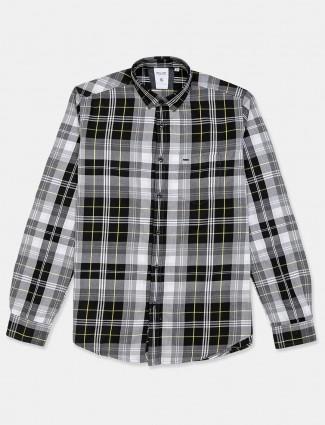 Killer black checks full sleeve shirt