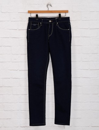 Killer blue solid mens jeans