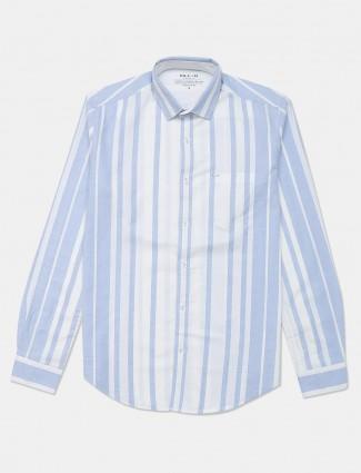 Killer blue stripe cotton casual shirt