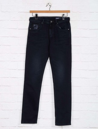Killer casual solid navy slim fit jeans