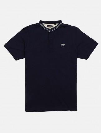 Killer casual solid navy t-shirt