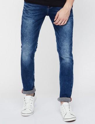 Killer dark blue solid jeans