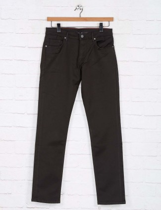 Killer dark olive slim fit jeans