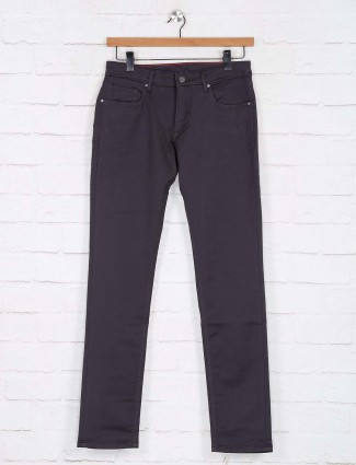 Killer grey solid slim fit jeans