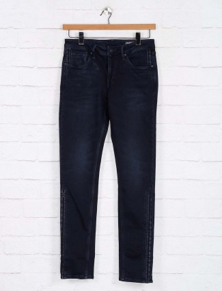 Killer navy washed skinny fit jeans