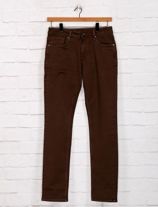 Killer presented solid brown jeans