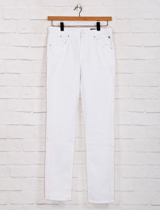 Killer presented solid white hue jeans