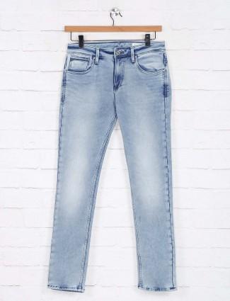 Killer slim fit blue washed jeans