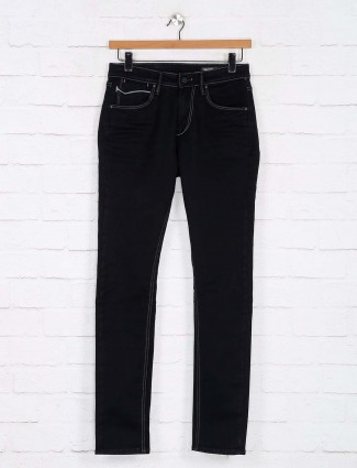 Killer solid black kinny fit jeans