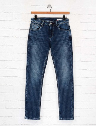 Killer solid blue color slim fit jeans