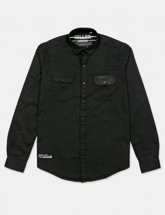 Killer solid olive cotton shirt casual wear