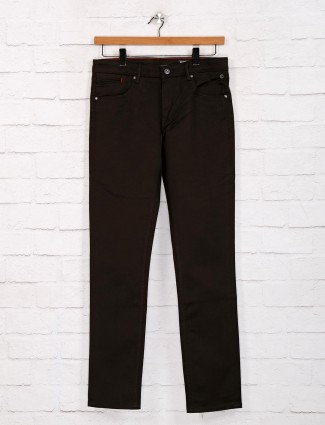 Killer solid olive slim fit jeans