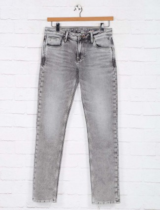 Killer washed grey slim fit jeans