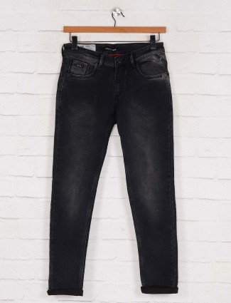 Kozzak black skinny fit vintage jeans