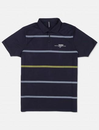 Kuch Kuch navy stripe cotton t-shirt
