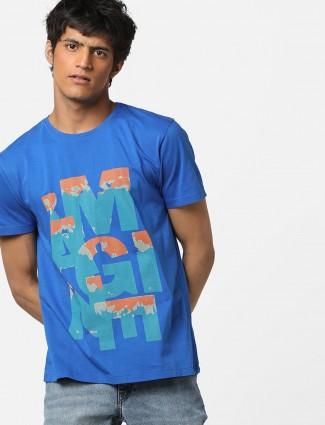 Lee dark blue printed t-shirt