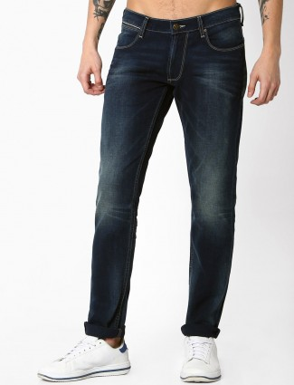 Lee denim navy slim fit jeans
