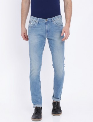 Lee simple sky blue denim jeans