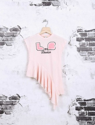 Leo N Babes pink cotton top