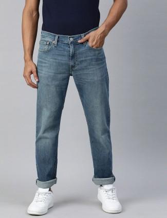 Levis blue denim solid 511 slim fit jeans