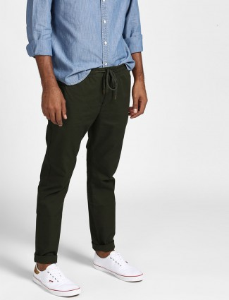 Levis green color cotton trouser