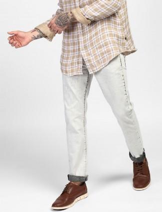Levis light grey casual denim jeans