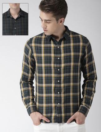 Levis navy reversible cotton shirt