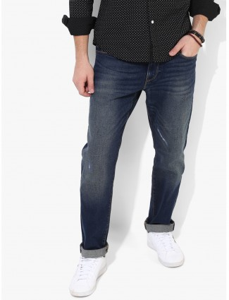Levis plain blue washed jeans