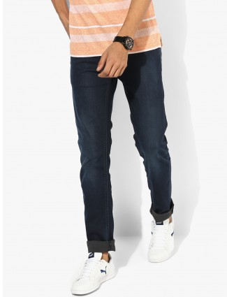 Levis plain dark navy jeans