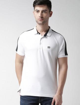 Levis plain white cotton t-shirt