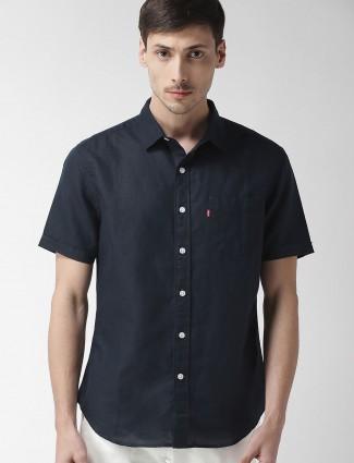 Levis present navy hue shirt